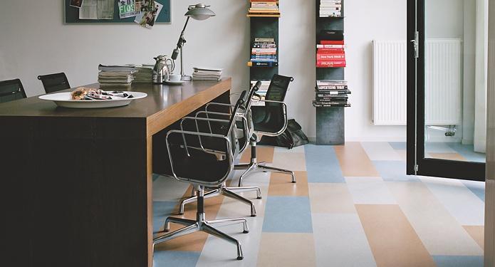 linoleum ist der umeltfreundliche und moderne bodenbelag bbs bodenbelags service ag pratteln. Black Bedroom Furniture Sets. Home Design Ideas
